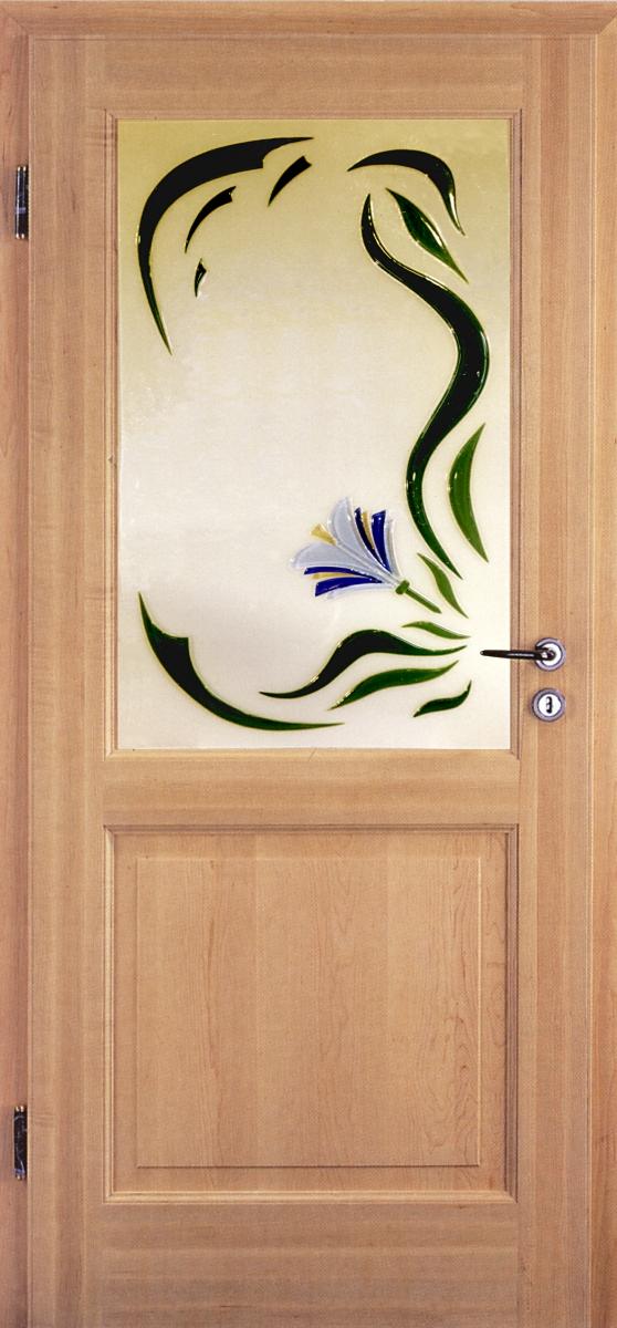Bild-Schmelzglas-Blume